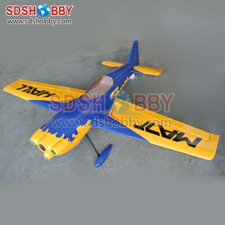 30% Scale MXS-R 88in Carbon Fiber Version 50cc RC Model Gasoline Airplane ARF/ Petrol Airplane-95 Yellow Color