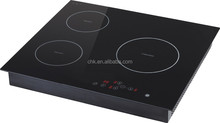 Three stove induction cooker