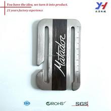 Oem ODM bonne qualité metal marque / métal personnalisé marque