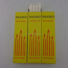 best quality household white candles