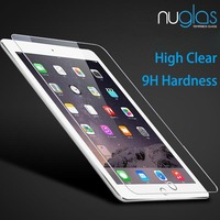 Wholesale Nuglas High Quality 9H Clear Tempered Glass Screen Protector for iPad Mini 4