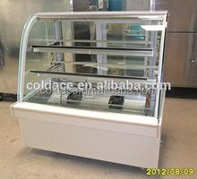 Fgw1500-c2 utilisé matériel de restauration de gâteau vitrine congélateur