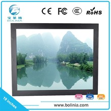"""Cheap and high quality industrial 12v TFT LCD monitor,full HD camcorder 19"""" LCD monitor 12 volt"""