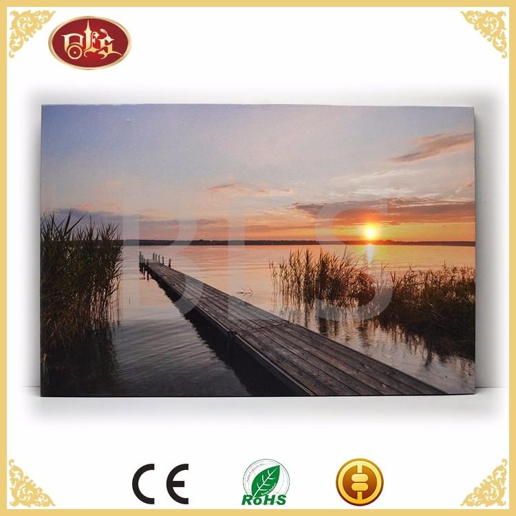 BD29029-landscape canvas print with led