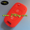 Colorful 3 buttons silicone case key car for Hyundai key case hyundai silicone car remote case