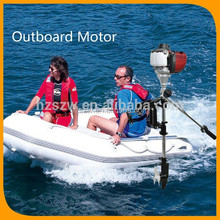 cheap small CE approved good quality OEM gasoline 2 stroke 2 hp fishing boat engin