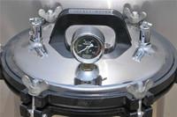 Portable mini autoclave, manual type steam sterilizer