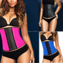Fashion and popular hot sexy corset latex body shapers latex waist training corset YH1112