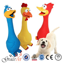 Grace Pet Dog Chew Toys Shrilling Sounds Screaming Chicken