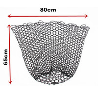fishing landing net replace rubber net bag