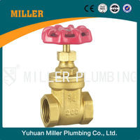 "ML-1010 Chinese Product Inside Screw 11/2"" Brass Gate Valve"