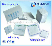 7.5x7.5 gauze pieces medical products from China