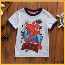 2015 New Summer Children Printed T-shirt Baby 100% Cotton t-shirts Kids Short Sleeve tshirt Child t-shirt ZZJ-PX-62