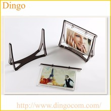 Promotional L shape Plastic Display Frames, Acrylic Photo Frames