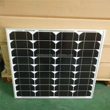 Cheapest 18V 50W Solar Panel Glass