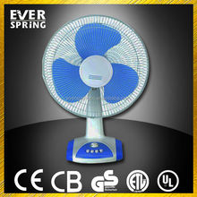 New product 12&16 inch small electric desk fan mini fan with timer
