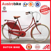 "28"" bikes for ladies single and 3 gears shining city bike /dutch bike /holland bike with CE free tax"