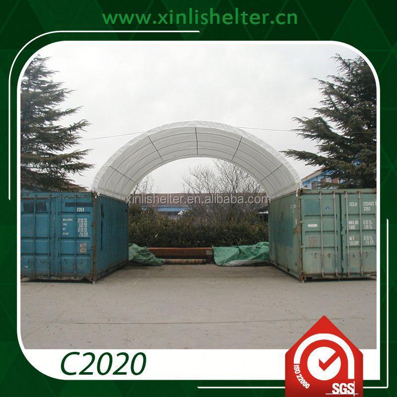 china lieferant versand garagen container dach lagerzelt. Black Bedroom Furniture Sets. Home Design Ideas