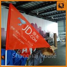 hot sale super wide textile banner nylon flag