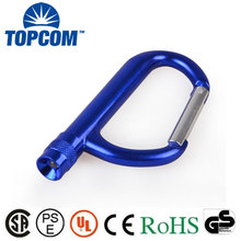 Promotional Big Aluminum Carabiner with LED light