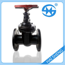 5inch water flange non-rising stem gate valve cast iron