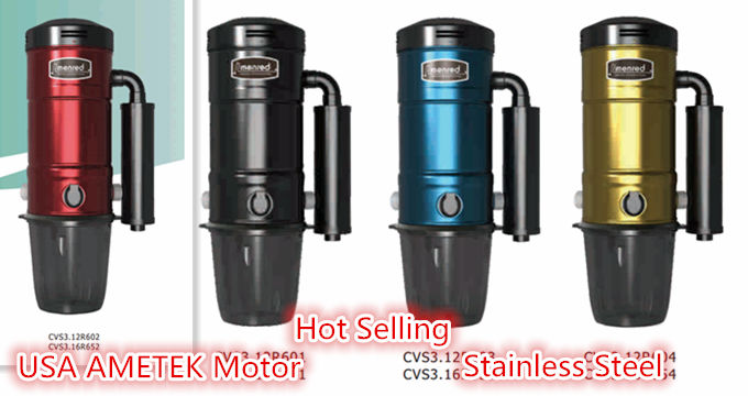 steam vacuum cleaner with AMETEK motor/dust Central vacuum cleaner system, home vacuum cleaner