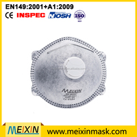 2015 High quality Filet Protective dust mask mouth FFP2