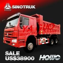 EURO2 336HP SINOTRUK HOWO 10 WHEEL DUMP TRUCK