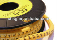 Manufacturer round cable marker tube (SG)
