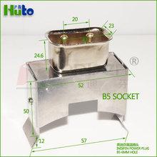 Indifen 2 pin B6 banda calentador socket