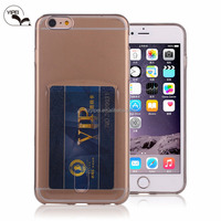 For iPhone 5 Back Cover for i5c i5s Cell Phone with Card Slot