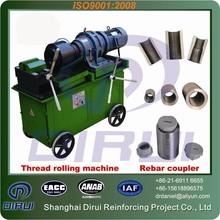 Cheap import products 12-50mm hydraulic thread rolling machine ludhiana/Anchor bolt threading machine