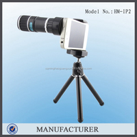 HM-IP2, clear Lens 12x clip telescope lens for Mobile phone camera