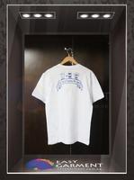 Customised Promotional Design O Neck Ringspun Short Sleeves white female Tshirt