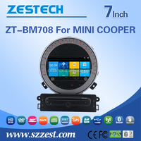 Wholesale factory price radio audio multimidea player touch screen car dvd car gps For BMW MINI COOPER