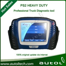 2015 New Design Xt00l PS2 HEAVY DUTY /universal truck professional diagnostic tool with touching LED screen/wireless bluetooth