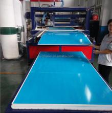 2015 hot sale green pvc co-extruded foam sheet