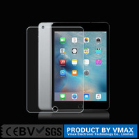High quality! newest tablet 9H anti- shock clear full cover tempered glass screen protector for iPad mini 4 / OEM ODM service