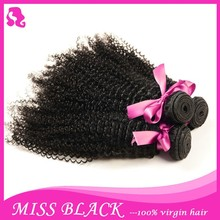 7A Grade 100% Unprocessed Human Virgin Chinese Hair Weaving Kinky Curly