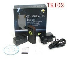 Original XEXUN TK102 Personal Vehicle GPS Tracker,4 band real time Free web use Android, Iphone App