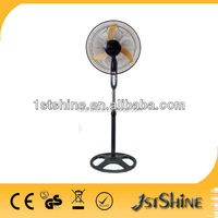 18 inch powerful 3 ox blades big electric stand fan
