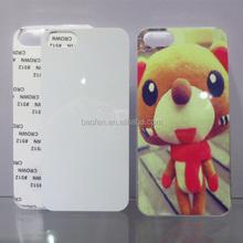 China wholesale Sublimation Flashing LED Phone Case for I5