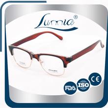 Hot Selling transparent brown tr90 glasses memory eyewear optical frame