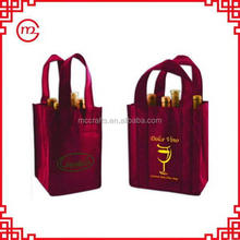 environmental tote nonwoven packing cooler bottle wine bag
