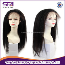 Good quality 100% human hair full lace wig wholesale
