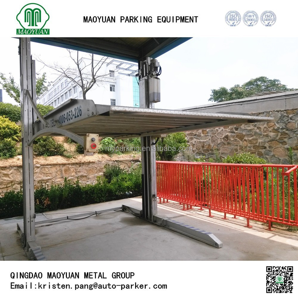 Used Home Garage Car Lift Hydraulic Parking Device Buy