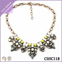 collares amarillos extravagante europeo sl por menor collares chinos de moda 2014
