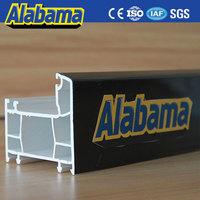 Hot Sale upvc door sash profile, upvc window section, plastic extrusion companies