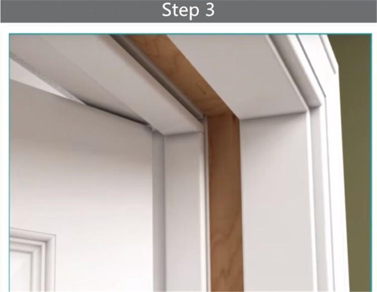 Superbe Solid Wood Split Jamb Pre Hung Interior Door In New Zealand