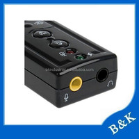 Afghanistan 7.1 channel 3d sound card usb driver supplier